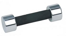 Гантель для фитнеса хромированная ZLT DB5202-1 1 кг