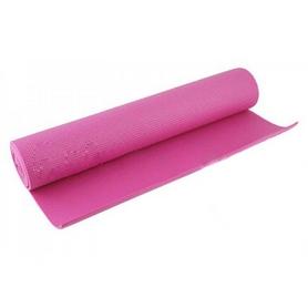 Коврик для фитнеса Pro Supra Yoga Mat малиновый 4 мм
