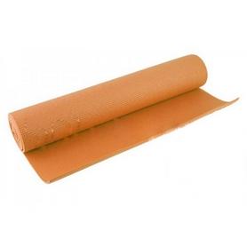 Коврик для фитнеса Pro Supra Yoga mat оранжевый 4 мм