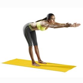Фото 3 к товару Коврик для фитнеса ProForm PFIYM113 желтый 3 мм