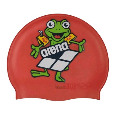 Шапочка для плавания Arena Multi Junior Cap 5 Arena World красная
