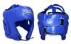 Шлем боксерский открытый Everlast BO-4493-B синий - фото 1
