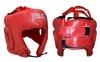 Шлем боксерский открытый Everlast BO-4493-R красный - фото 1