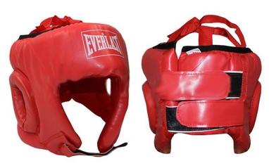 Шлем боксерский открытый Everlast BO-4493-R красный
