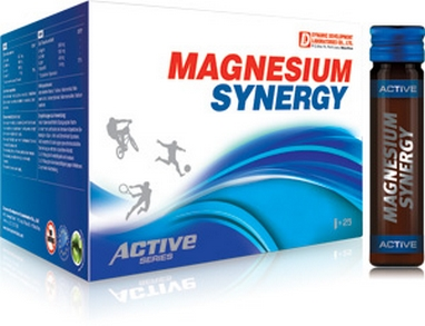 Комплекс витаминов Dynamic Magnesium Synergy 1000 (25x11 мл)