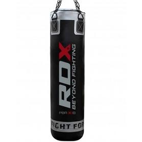 Мешок боксерский RDX Leather Black 1.5 м
