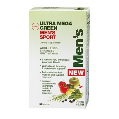 Комплекс витаминов и минералов Form Labs GNC Um Green Mens Sport (60 капсул)