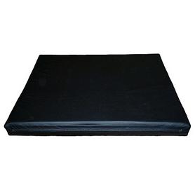 Мат гимнастический детский Sportko МГ-3 100x100x8см черный