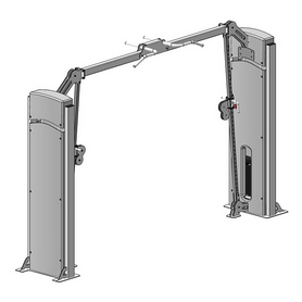 Блочная рамка (кроссовер) с регулируемым блоком по высоте Fit Way Factory Bridge Style A 106