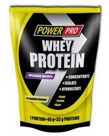 Протеин Power Pro Whey Protein (1000 г)