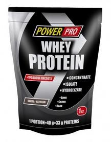 Фото 2 к товару Протеин Power Pro Whey Protein (1000 г)
