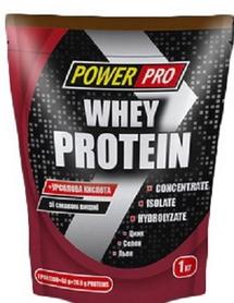 Фото 3 к товару Протеин Power Pro Whey Protein (1000 г)