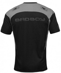 Фото 2 к товару Футболка Bad Boy Performance black/silver