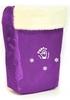 Комплект матрасик на санки и чехол на ножки PUPSik фиолетовый - фото 1