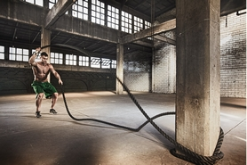 Фото 2 к товару Канат для кроссфита ZLT Combat Battle Rope (12 м)