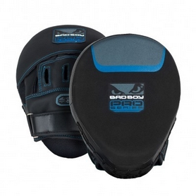 Лапы боксерские Bad Boy Pro Series 3.0 Precision Blue