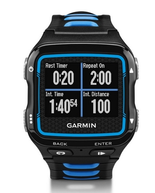 Часы мультиспортивные Garmin Forerunner 920XT Black & Blue