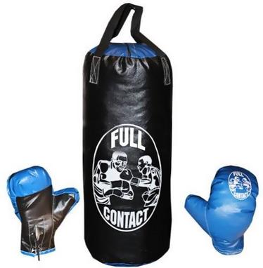 Набор боксерский детский Full Contact (39х14 cм) черный