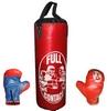 Набор боксерский детский Full Contact (39х14 cм) красный - фото 1