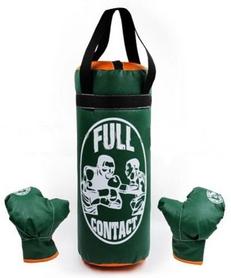 Набор боксерский детский Full Contact (52х20 cм) зеленый