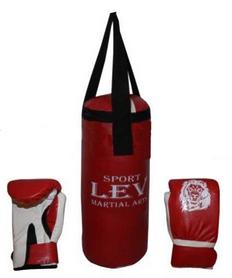 Набор боксерский детский Lev (40х15) красный