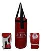 Набор боксерский детский Lev (40х15) красный - фото 1