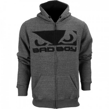 Кофта спортивная Bad Boy Fleece dark grey