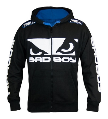 Кофта спортивная Bad Boy Walk In 2.0 black/blue