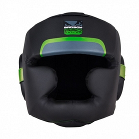 Шлем боксерский Bad Boy Pro Series 3.0 Full Green - L