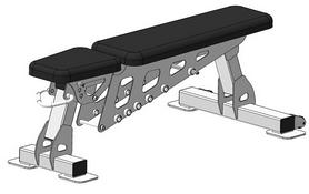 Скамья регулируемая Fit Way Factory Bridge Style A 202.1