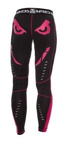 Фото 2 к товару Штаны компрессионные женские Bad Boy Leggings black/pink