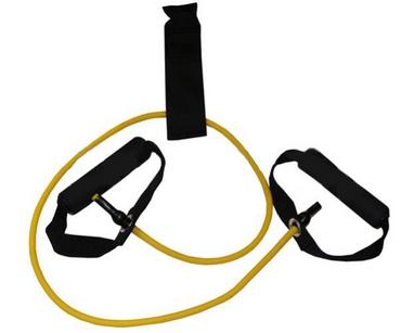 Эспандер трубчатый для фитнеса Pro Supra FI-2659-Y 4LB желтый