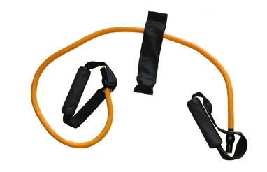 Эспандер трубчатый для фитнеса Pro Supra FI-2659-OR 40LB оранжевый