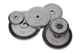 Фото 1 к товару Диск хромированный 20 кг USA Style - 26 мм