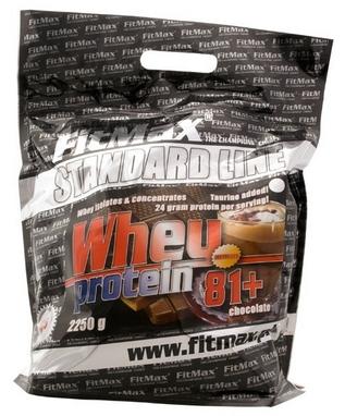 Протеин FitMax Whey Pro 81+ (2250 г)