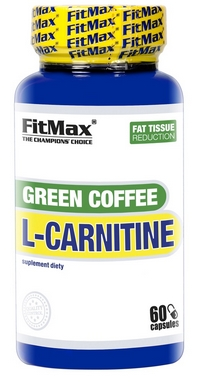 Жиросжигатель FitMax Green Coffee L-Carnitine (60 капсул)