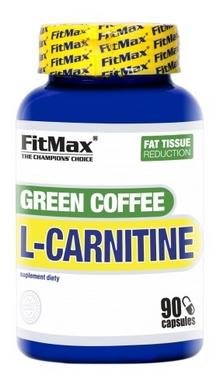 Жиросжигатель FitMax Green Coffee L-Carnitine (90 капсул)