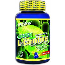 Фото 1 к товару Жиросжигатель FitMax Green L-Carnitine (60 капсул)