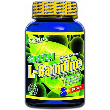 Жиросжигатель FitMax Green L-Carnitine (90 капсул)