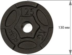 Фото 2 к товару Диск чугунный USA Style 1,25 кг - 26 мм