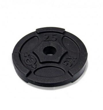 Диск чугунный USA Style 2,5 кг - 26 мм