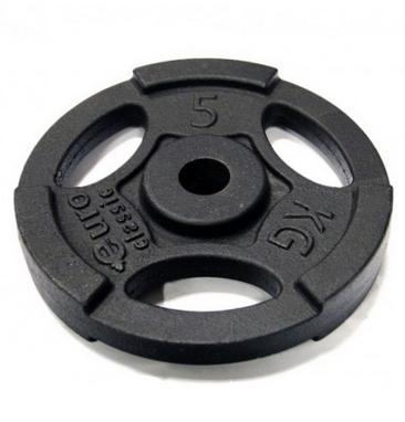 Диск чугунный USA Style 5 кг с хватами - 26 мм