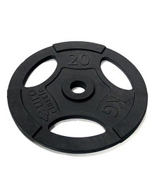 Диск чугунный олимпийский USA Style 20 кг с хватами - 51 мм