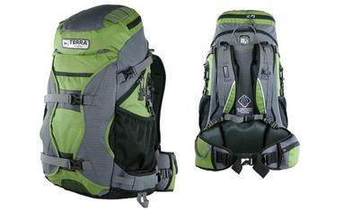 Рюкзак туристический Terra Incognita Nevado 40 зеленый/серый