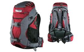 Фото 1 к товару Рюкзак туристический Terra Incognita Nevado 40 красный/серый