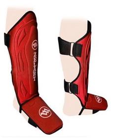 Защита для ног (голень+стопа) ZLT ZB-4216 красная