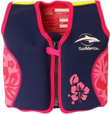 Жилет плавательный Original Konfidence Jacket navy/pink/hibiscus