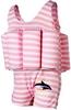 Купальник-поплавок Konfidence Floatsuits pink berton stripe - фото 1