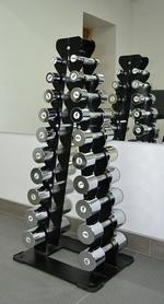 Фото 2 к товару Стойка для гантелей (от 1 до 10 кг) Fit Way Factory Bridge Style A 226