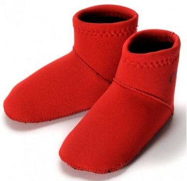 Носки неопреновые для бассейна и пляжа Konfidence Paddler красные